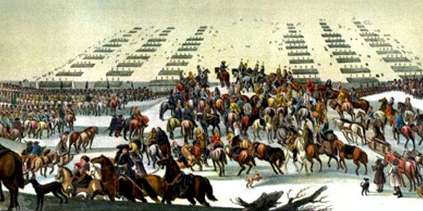 Crossing of the Great Belt by the Swedish Army in 1658